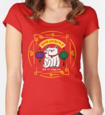 Good Lucky No. 7 Women's Fitted Scoop T-Shirt