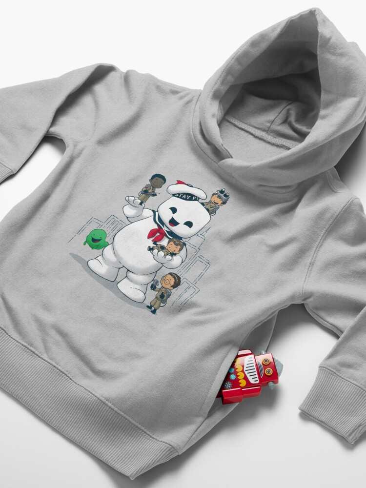 Alternate view of Puft Buddies Toddler Pullover Hoodie