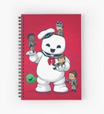 Puft Buddies Spiral Notebook