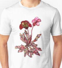 Pitcher Plant, Sarracenia purpurea Unisex T-Shirt