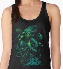 This Is Horror Green on Black OctoTerror Women's Tank Top