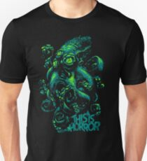 This Is Horror Green on Black OctoTerror Unisex T-Shirt