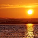 Misty Sunrise over Moray Firth by Stephen Frost
