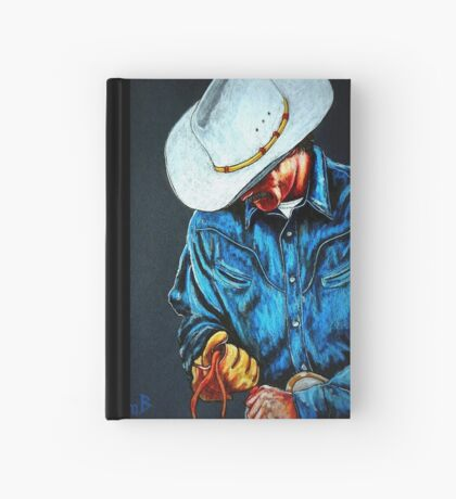 Chisholm...Portrait Of A Cowboy Hardcover Journal