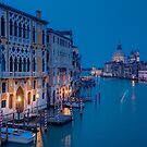 Grand Canal, Venice by Erik Schlogl