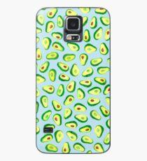 Avocado Love, Blue Case/Skin for Samsung Galaxy