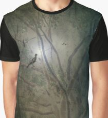 A Night in the Forest Graphic T-Shirt