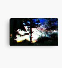 Digital Trees Canvas Print