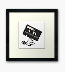 AUDIO cassette Framed Print