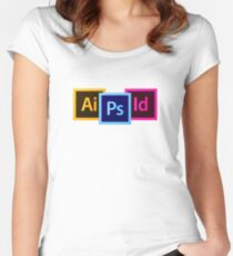 Adobe Workshop Women's Fitted Scoop T-Shirt