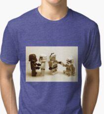 Lego Star Wars Stormtroopers Diversity Minifigure Tri-blend T-Shirt