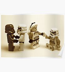 Lego Star Wars Stormtroopers Diversity Minifigure Poster