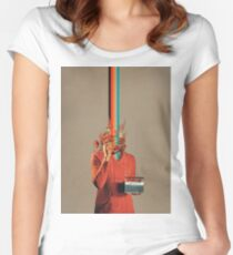 Musicolor Fitted Scoop T-Shirt