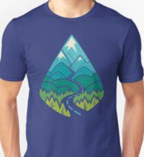 The Road Goes Ever On: Summer Unisex T-Shirt