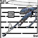 Artillery Drone Maze  by Yanito  Freminoshi
