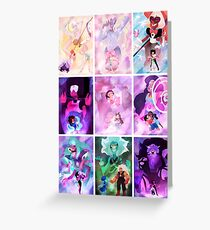 fusions galore Greeting Card