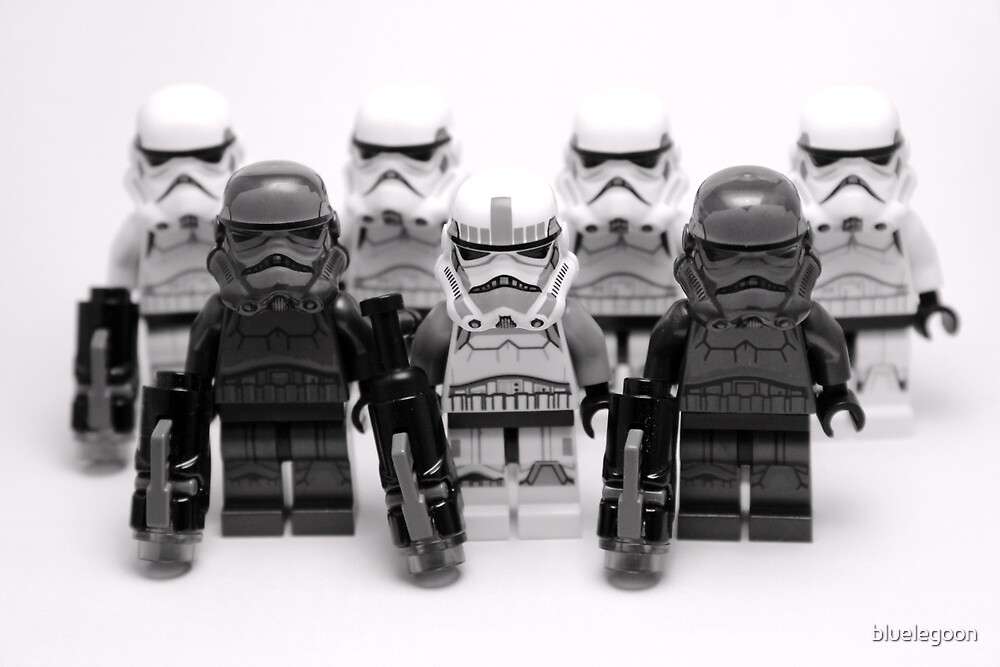 Lego Star Wars Stormtroopers Group Picture Minifigure by bluelegoon