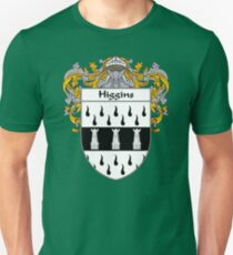 Higgins Coat of Arms/Family Crest Unisex T-Shirt