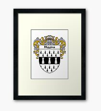 Higgins Coat of Arms/Family Crest Framed Print
