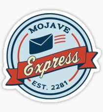 Mojave Express - Est. 2281 Sticker