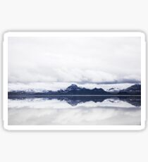 Colorado Mountain Mirror Sticker