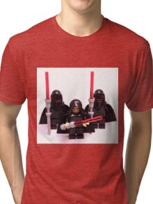 Lego Star Wars Emperor & Shadow Guards March Minifigure Tri-blend T-Shirt