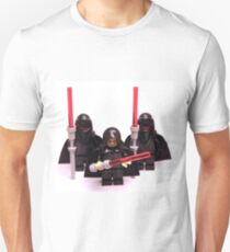 Lego Star Wars Emperor & Shadow Guards March Minifigure T-Shirt