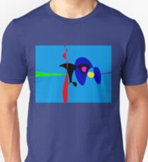 Abstract Expressionism Simple Digital Art Unisex T-Shirt