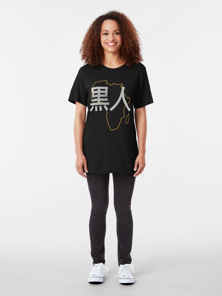 Alternate view of Blasian (Japanese) Third Culture Series Slim Fit T-Shirt