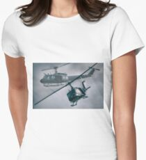 Bell UH-1H Helicopter (Huey 509) Women's Fitted T-Shirt