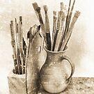 Artist´s Brushes by Madeleine Forsberg