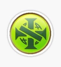 Civilization V Brazil Emblem Sticker Sticker