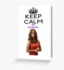 Buffy Faith Eliza Dushku Greeting Card