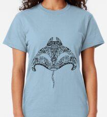 Tribal Manta Ray Classic T-Shirt