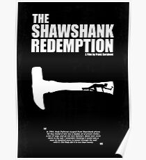 The Shawshank Redemption - A Minimal Movie Poster. A movie by Frank Darabont. Poster