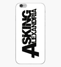ASKING ALEXANDRIA LOGO iPhone Case