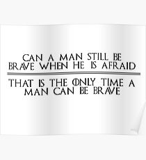 Ned Stark Quote Poster