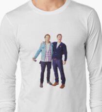 Chris Evans and Sebastian Stan Long Sleeve T-Shirt