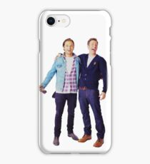 Chris Evans and Sebastian Stan iPhone Case/Skin