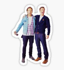 Chris Evans and Sebastian Stan Sticker