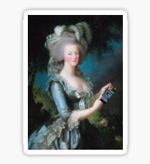 Marie Antoinette: call me on my new phone! Sticker