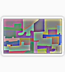Blocks of Blocks Sticker
