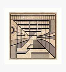 Birmingham Central Library Art Print