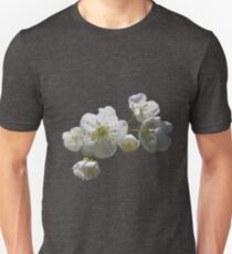 cherry tree in blossoms on iced coffee background T-Shirt