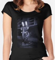Old Microscope Women's Fitted Scoop T-Shirt