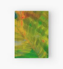 Abstract Palm Art tshirt Hardcover Journal