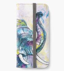 African Elephant Dancer  iPhone Wallet