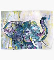African Elephant Dancer  Poster