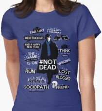 Sherlock quotes Women's Fitted T-Shirt