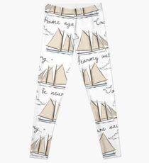"""We are Sailing..."" Leggings"
